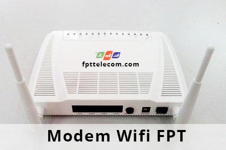 modem wifi fpt 2 râu 4 cổng