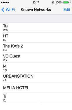 Cách xem pass Wifi trên iPhone, iPad khi Quên mật khẩu Wifi 2