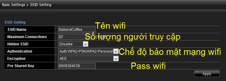 huong dan doi mat khau wifi viettel qua 192.168.1.100:8080