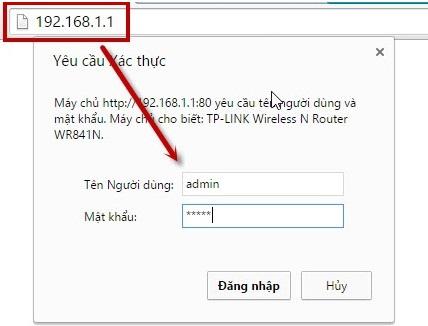 Cách đổi mật khẩu Wifi TP Link