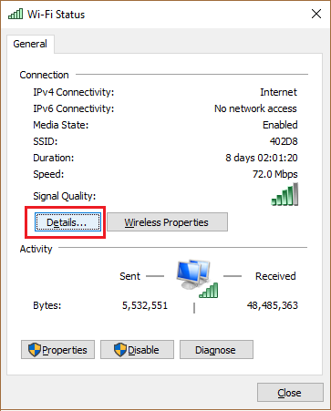 Kiem tra ip default gateway 5