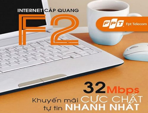 Gói cước cáp quang FPT F2 32Mbps – FPT Telecom
