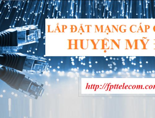 Lắp đặt cáp quang FPT huyện Mỹ Đức – Hà Nội