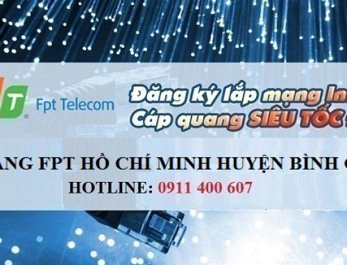 Lắp mạng FPT HCM huyện Bình Chánh tốc độ cao