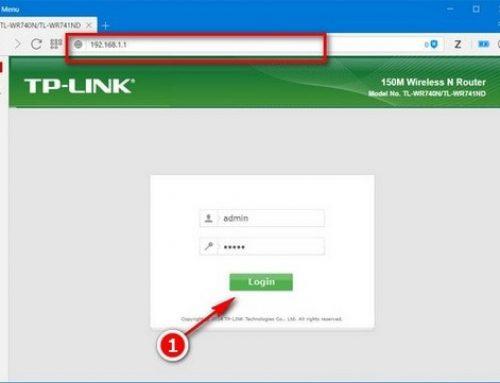 Hướng dẫn thay đổi tên đăng nhập và mật khẩu modem TP-Link