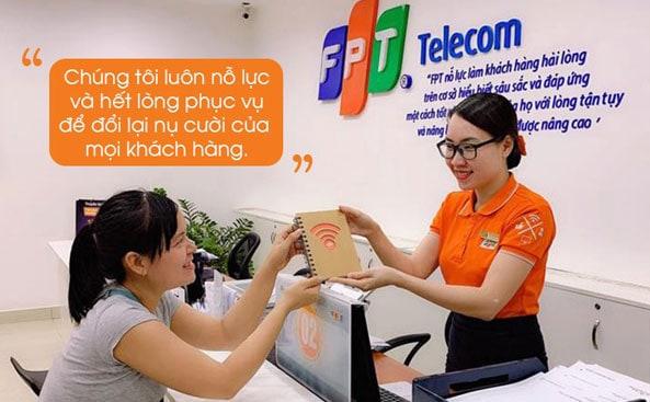 Thủ tục đăng ký lắp mạng internet FPT Nha Trang rất đơn giản