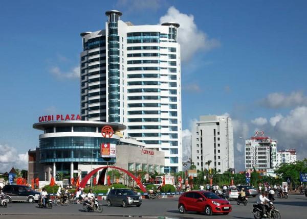 Cát Bi Plaza - một trong những khu vực miễn phí Wifi tại Hải Phòng