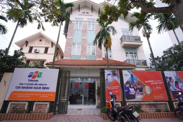 Văn phòng FPT Nam Định tại: Số 6 Đường Đông A, Khu đô thị Hòa Vượng ,TP Nam Định