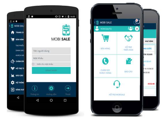 Phần mềm Mobi Sale của FPT