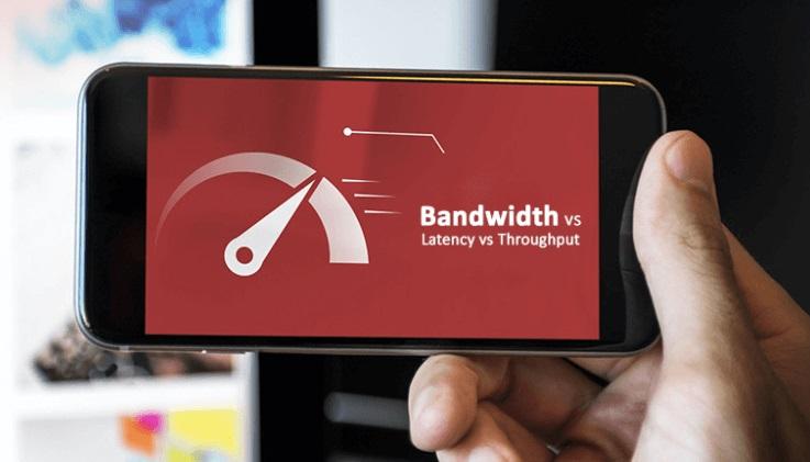 Băng thông lớn mà tốc độ internet chậm thường do đường truyền