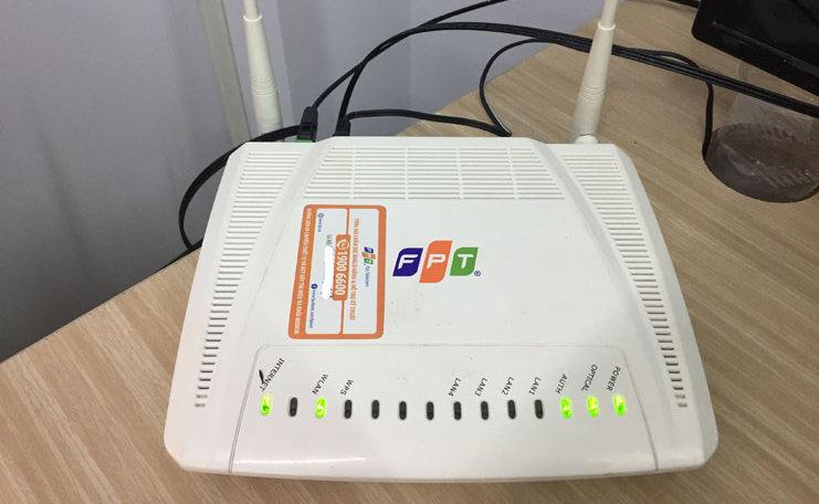 Thiết bị Modem quá nóng cũng là nguyên nhân làm mạng FPT chậm