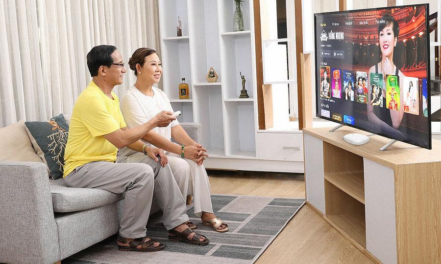 Truyền hình FPT đáp ứng mọi nhu cầu giải trí