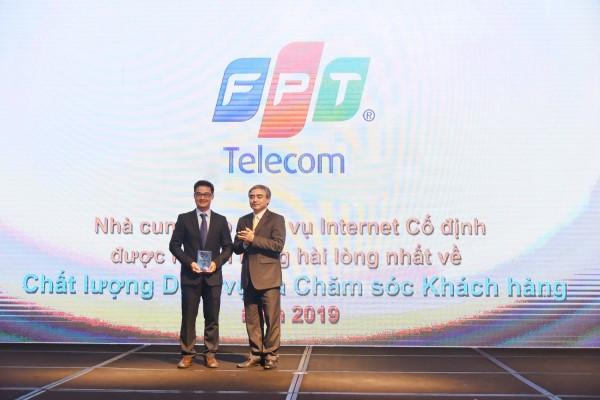 """FPT Telecom vinh danh """"Nhà cung cấp dịch vụ băng thông rộng di động và Internet cố định năm 2019"""""""
