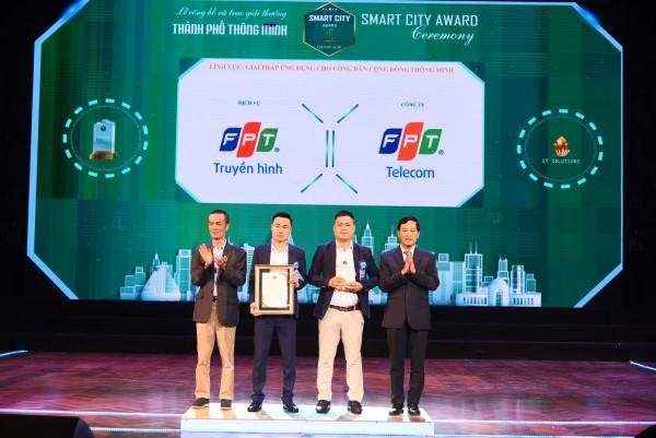 FPT Telecom nhận 3 giải thưởng Thành phố Thông minh Việt Nam 2020