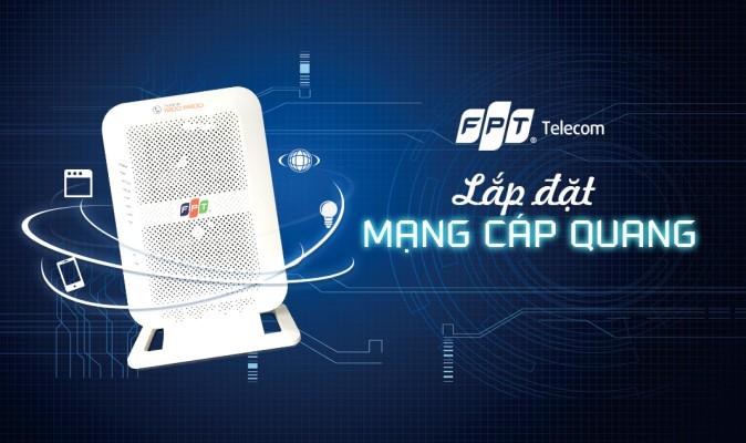 Đăng ký lắp mạng FPT Thái Nguyên ngay, tặng 100% modem Wifi