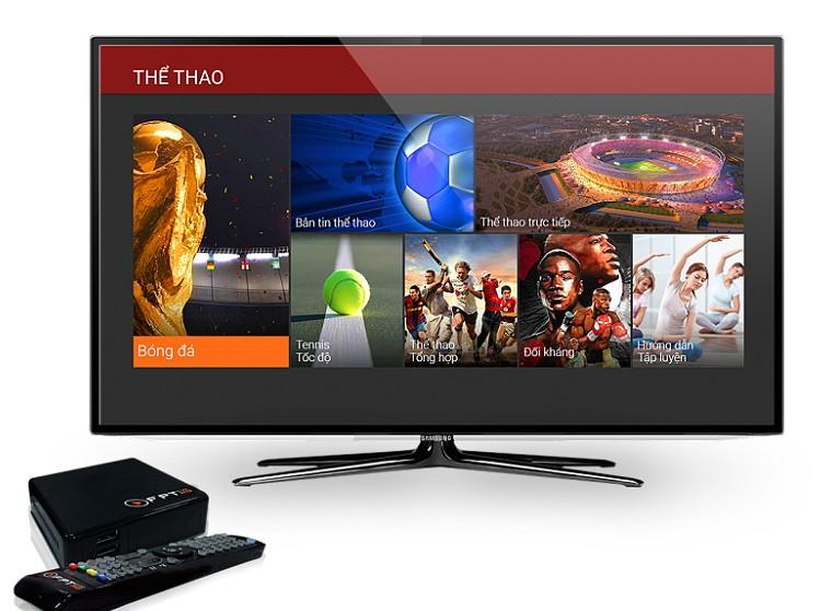 FPT Play HD đa dạng các kênh giải trí