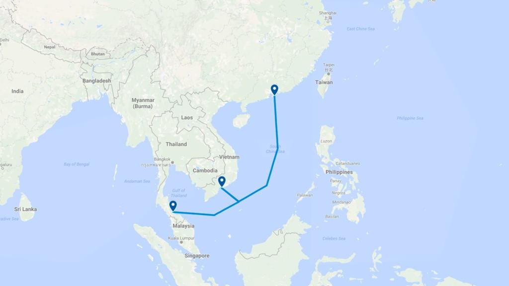 Bản đồ tuyến cáp quang TVH