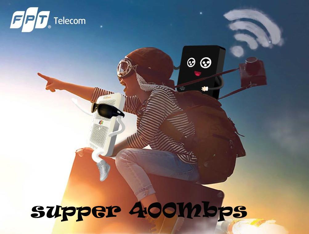 Gói FPT Super 400 Mbps