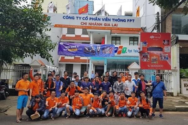 Lắp mạng FPT Gia Lai - đội ngũ nhân viên sẵn sàng phục vụ