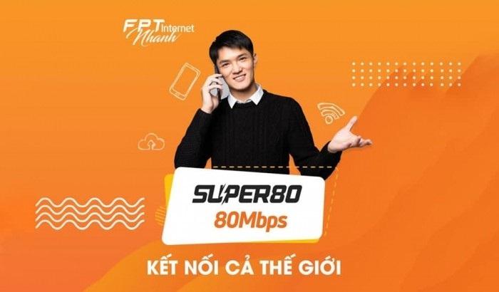 Lắp mạng FPT Bắc Giang - gói cước Super 80 được nhiều gia đình lựa chọn