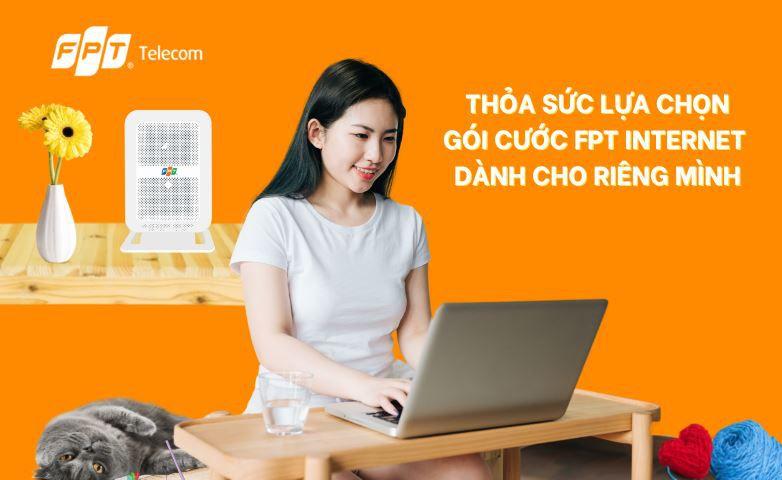 Lắp mạng FPT Lào Cai với giá chỉ từ 200k/ tháng