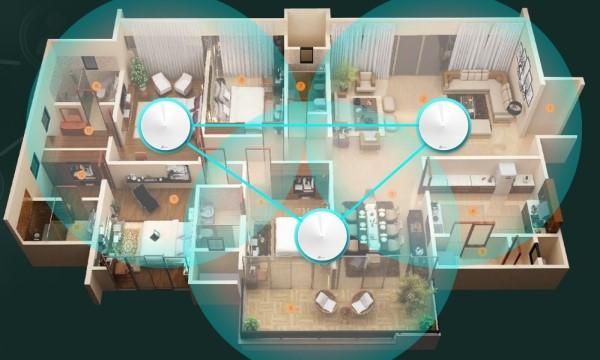 Sử dụng giải pháp mesh wifi cho căn hộ/ chung cư rộng là giải pháp tối ưu